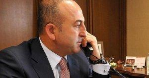 Çavuşoğlu, Kerry ve Ayrault ile telefonda görüştü