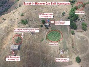Lice'de PKK'ya ait sığınaklar bulundu