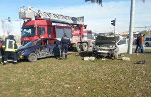 Batman'da meydana gelen trafik kazasında 2 kişi yaralandı