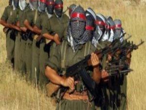 PKK'lılar Diyarbakır'da yol kesti
