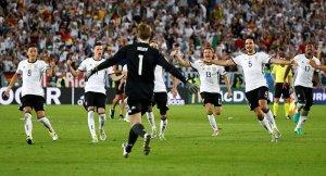 Almanya'dan tarihi zafer