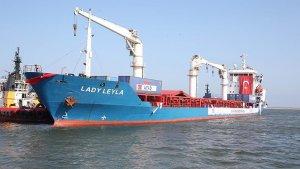 Türkiye'den Gazze'ye yardım götüren 'Lady Leyla', İsrail'e ulaştı