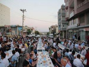 HÜDA PAR'dan Dargeçit'te halka açık iftar yemeği