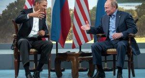 Putin'den ABD Başkanı Barack Obama'ya telgraf