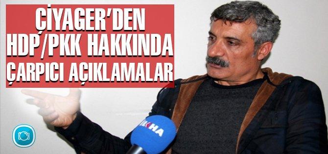 Çiyager; HDP, Kürtleri kandırdı