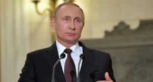 Putin'den Fransa'ya tebrik mesajı