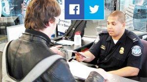 ABD'ye girişiniz Sosyal Medya Hesap Bilgileriniz tayin edecek