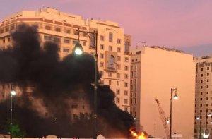 Suudi Arabistan'da şiddetli patlama: Ölü ve yaralılar var
