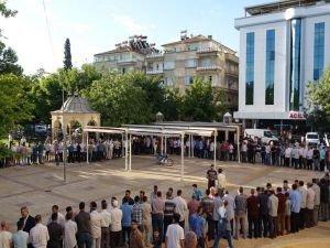 Gaziantep'te bayramlaşma programına yoğun ilgi