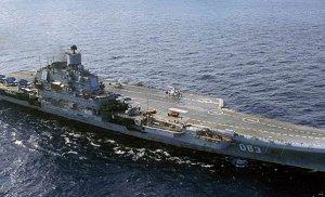 Rusya DAEŞ'e yönelik operasyonlar için uçak gemisini Suriye kıyılarına gönderiyor