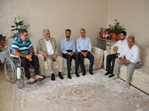 Yapıcıoğlu şehit ve tutuklu ailelerini ziyaret etti
