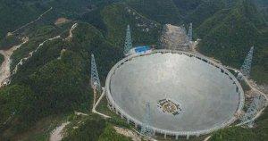 Çin, FAST isimli teleskop kullanıma hazır hale getirdi