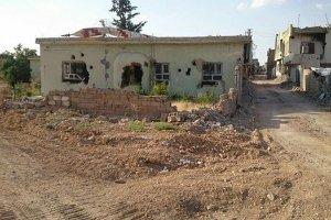 Nusaybin ilçesinde binlerce ev ve cami zarar gördü