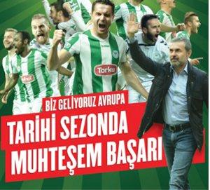 Konyaspor yeni sezonda şampiyonluğa aday