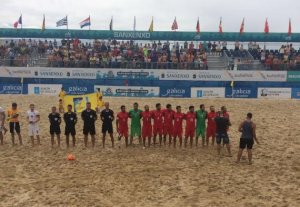 Plaj Futbolunda Milli başarı