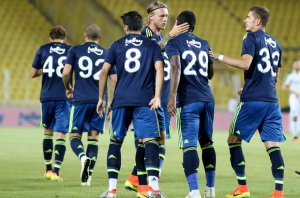 Fenerbahçe'den tatlı prova