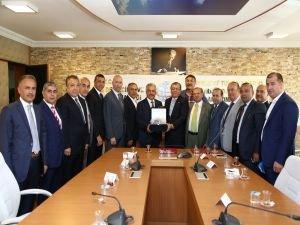 ATO yönetiminden Bakan Arslan'a ziyaret