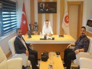 Hür24 yönetiminden TPAO Bölge Müdürü Akın'a ziyaret