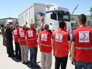 Kızılay, Irak'ta barınma ünitesi gönderiyor