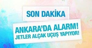 Ankara'da görülmemiş güvenlik alarmı!