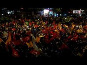 'Hizbullahi gençler' meydanları inletti!