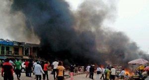 Nijerya'da Bombalı dehşet 20 Ölü