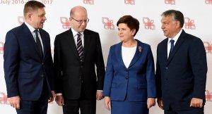 Vişegrad Grubu'ndan Türk hükümetine desteklerini belirtti