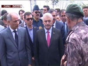 Başbakan Gölbaşı Polis Özel Harekat Daire Başkanlığı'nda!
