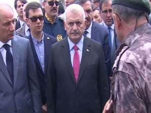 Başbakan Özel Harekat Daire Başkanlığını ziyaret etti