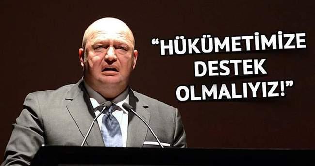 Mustafa Koç: Hükümetimize destek olmalıyız