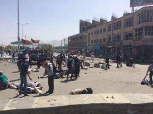 Kabil'de patlama 61 kişi hayatını kaybetti