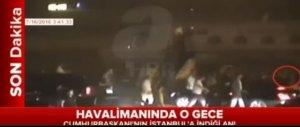 Cumhurbaşkanı Erdoğan'ın uçağı böyle indi!.