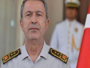 Genelkurmay Başkanı Akar'dan açıklama