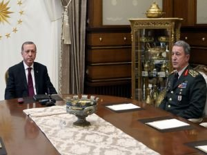 Cumhurbaşkanı Erdoğan, Orgeneral Akar'ı kabul edecek