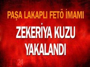 Paşa lakaplı FETÖ imamı Zekeriya Kuzu yakalandı!