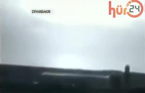 Diyarbakır Çınar'daki patlama anı kamerada