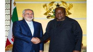 Cevad Zarif, Gana cumhurbaşkanıyla görüştü