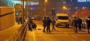 Beşiktaş'ta vurulan kişinin çantası boş çıktı