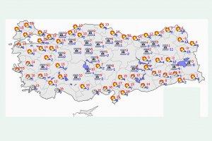 Türkiye genelinde hava sıcaklığının artacağı tahmin ediliyor
