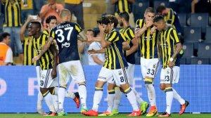 Fenerbahçe UEFA da büyük avantaj yakaladı