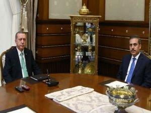 Erdoğan Fidan ile görüşecek