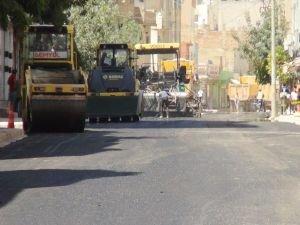 Nusaybin'de parke yerine asfalt!