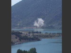 PKK'lılardan trene bombalı saldırı!