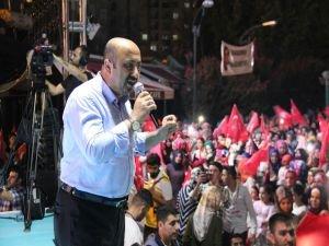 Diyarbakır'da darbe nöbeti sürüyor!