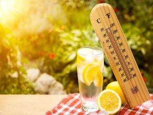 Bol su içmek, güneş çarpmasının kalkanı!