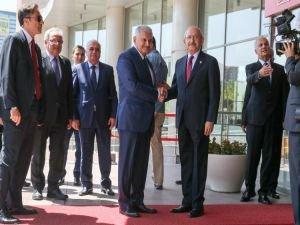 Başbakan Yıldırım, Kılıçdaroğlu ile görüştü!