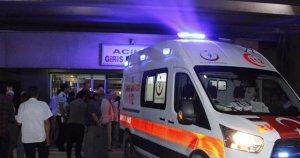 Yaralı polisler helikopterle Elazığ'a getirildi