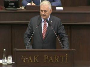 Başbakan Yıldırım TBMM Grup toplantısında konuşuyor!