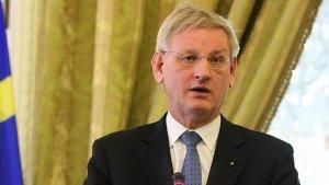 Bildt, Avrupa'nın tepkisizliğini sert bir dille eleştirdi