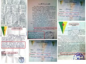 PKK'nın, 'resmi' haraç taktiği!